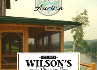 Auction items available at our 24th Annual Conservation Dinner!
