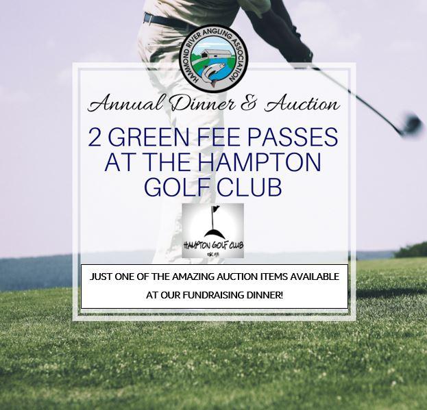 Hampton Golf Auction Item