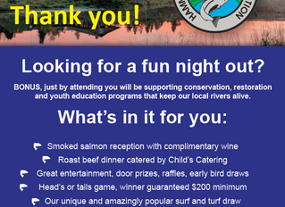 Dinner is SOLD OUT! Thank you for your support!