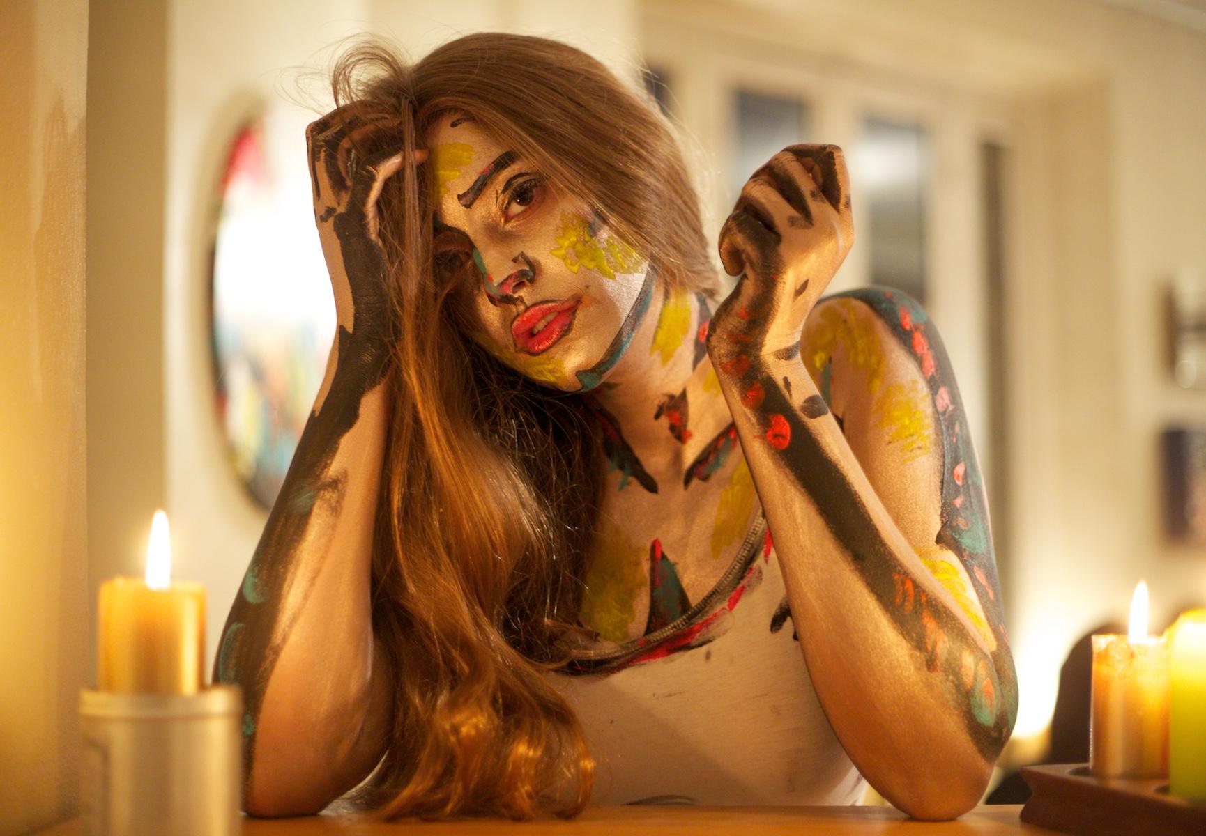 Body painting, Jade