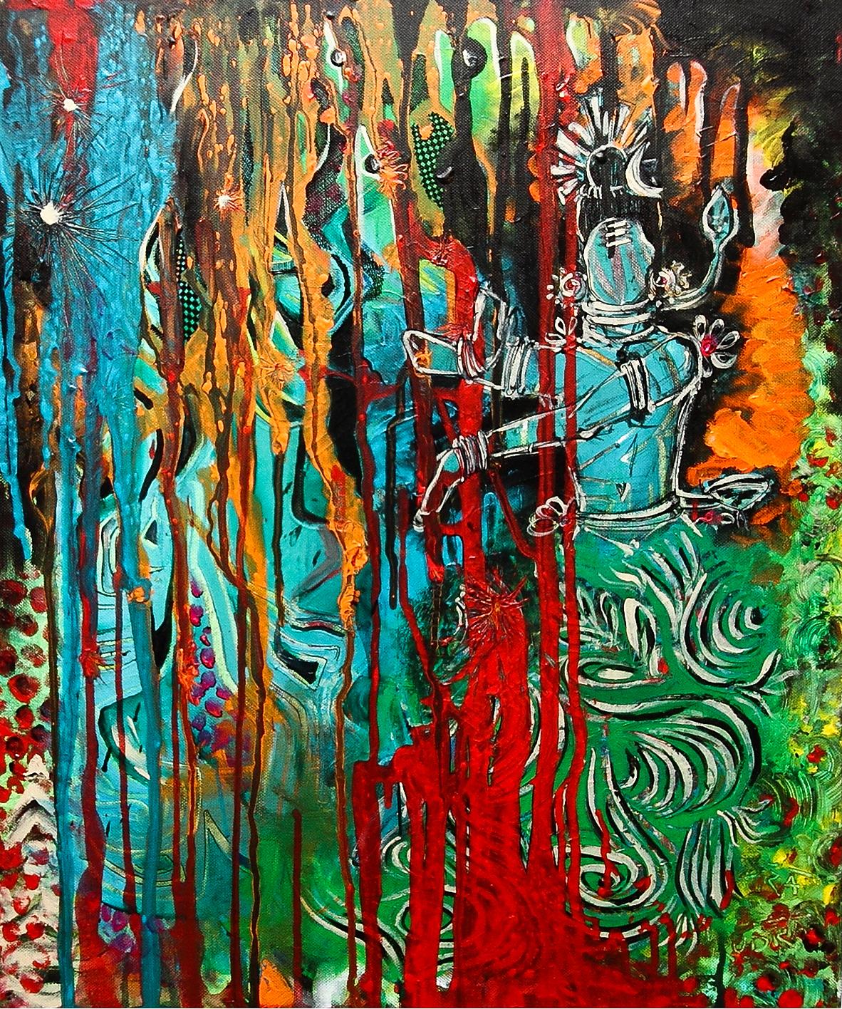Shiva and Parvati (sold)