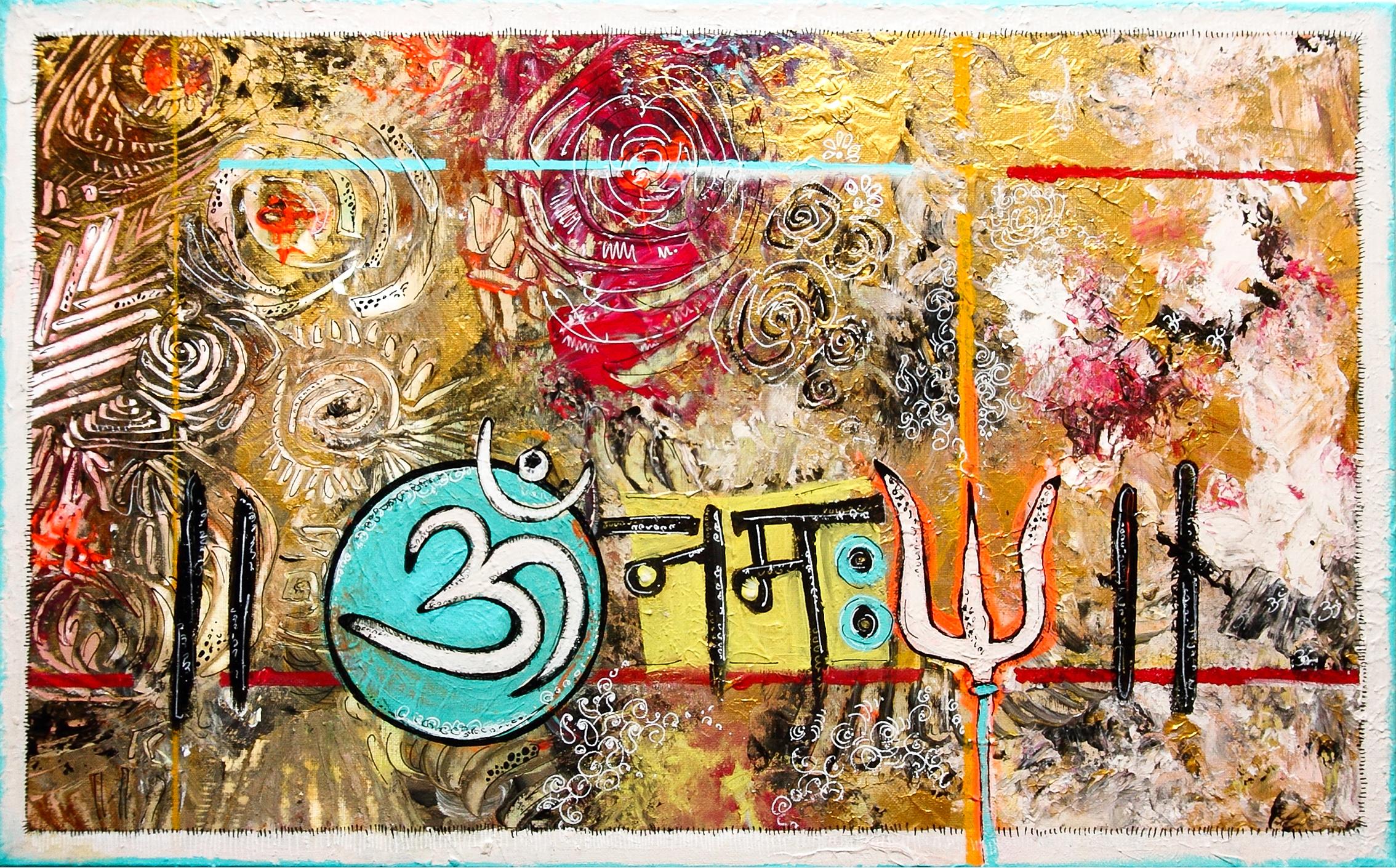Om Namah Shivay (sold)