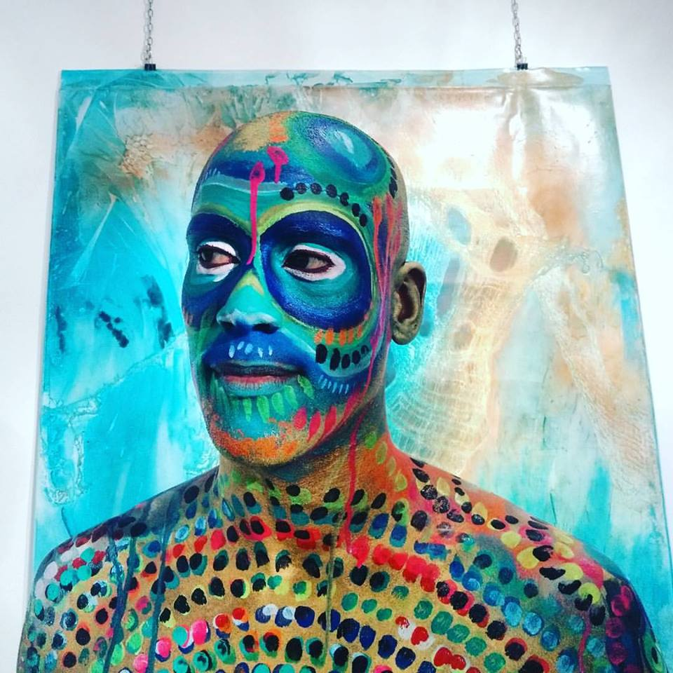 Body painting at Galerie Art'et Miss