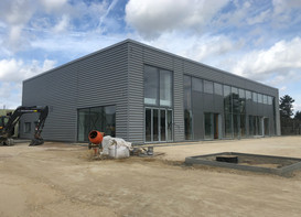 Vindis VW Cambridge looking good for completion on time.