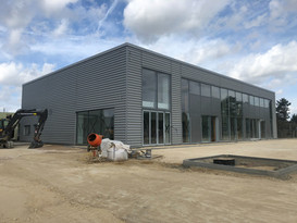 VindisVW Cambridge looking good for completion on time.