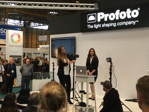 Great day at the Photography Show - lots to see and some great talks too!