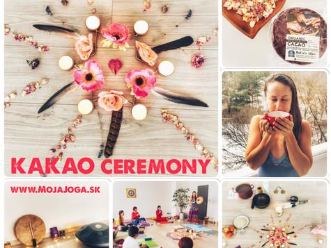 KAKAO ceremónia