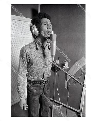 Bob Marley 1968 Studio