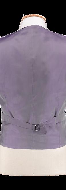 French Blue Waistcoat Back Lilac