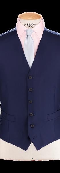 French Blue Waistcoat
