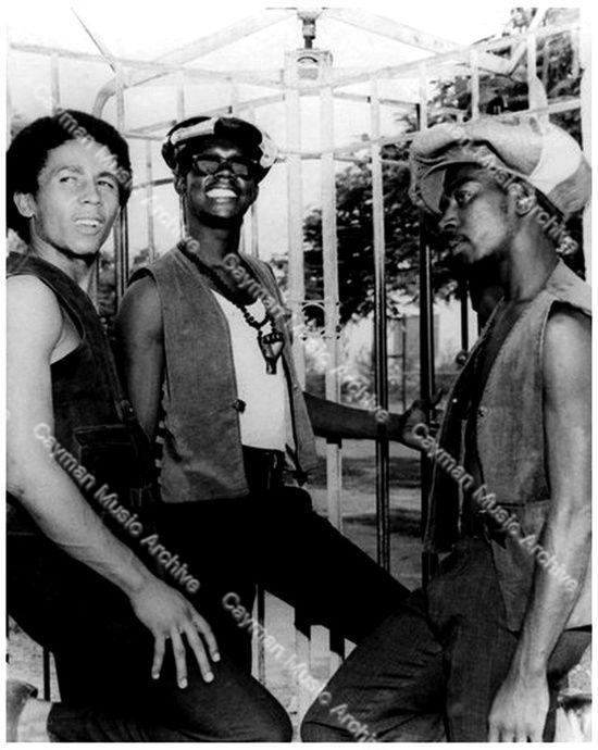 Bob Marley, Peter Tosh & Bunny Wailer