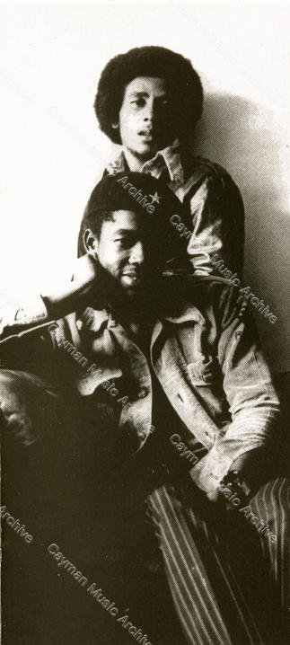 Bob Marley and Peter Tosh London 1971
