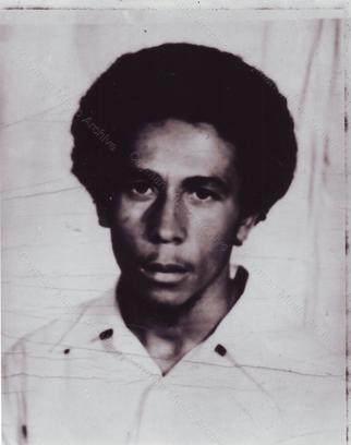 Bob Marley Passport Image Late 1960's