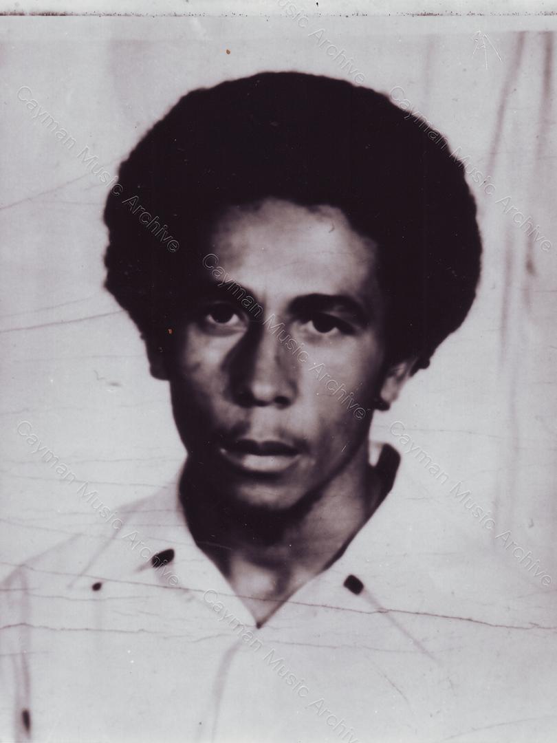 Bob Marley Passport Image Late 1968