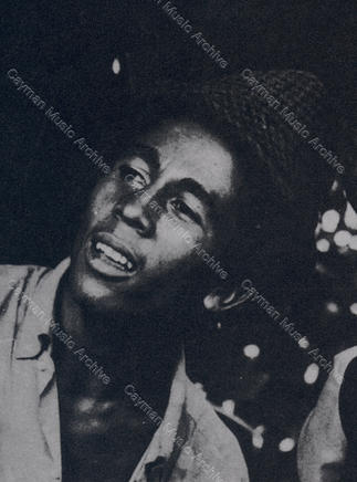 Bob Marley Russell Heights 1968 portrait