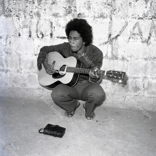 Bob Marley Dynamic Studio Yard 1969