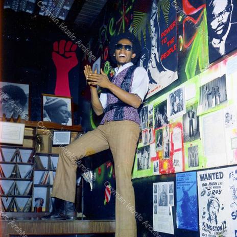 Bob Marley Tuff Gong Record Shop 1971 1