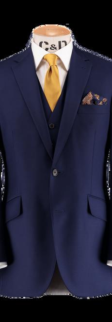 French Blue Jacket and Waistcoat
