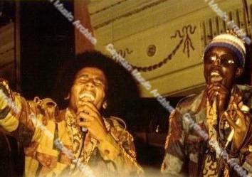 Bob Marley Peter Tosh and Bunny Wailer a