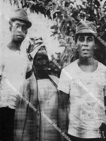 Bob Marley, Rita Marley & Peter Tosh