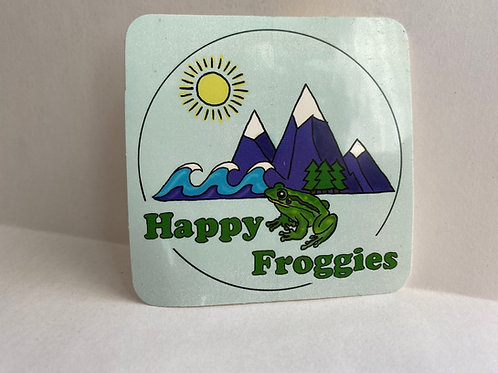Happy Froggies Sticker