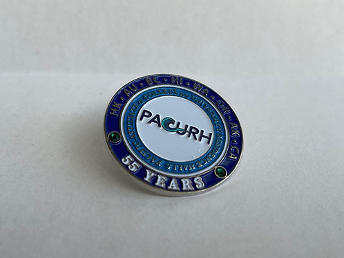 PACURH 55 Year Pin (Blue)