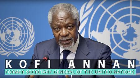 Kofi Annan making waves ideas from europe afsluidijk