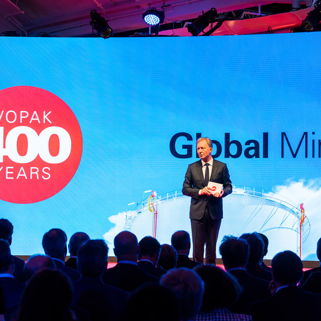 VOPAK 400 years - global minds