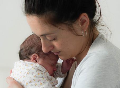 Un bébé prématuré pendant le confinement