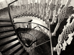 Staircase at the Diplomat Hotel