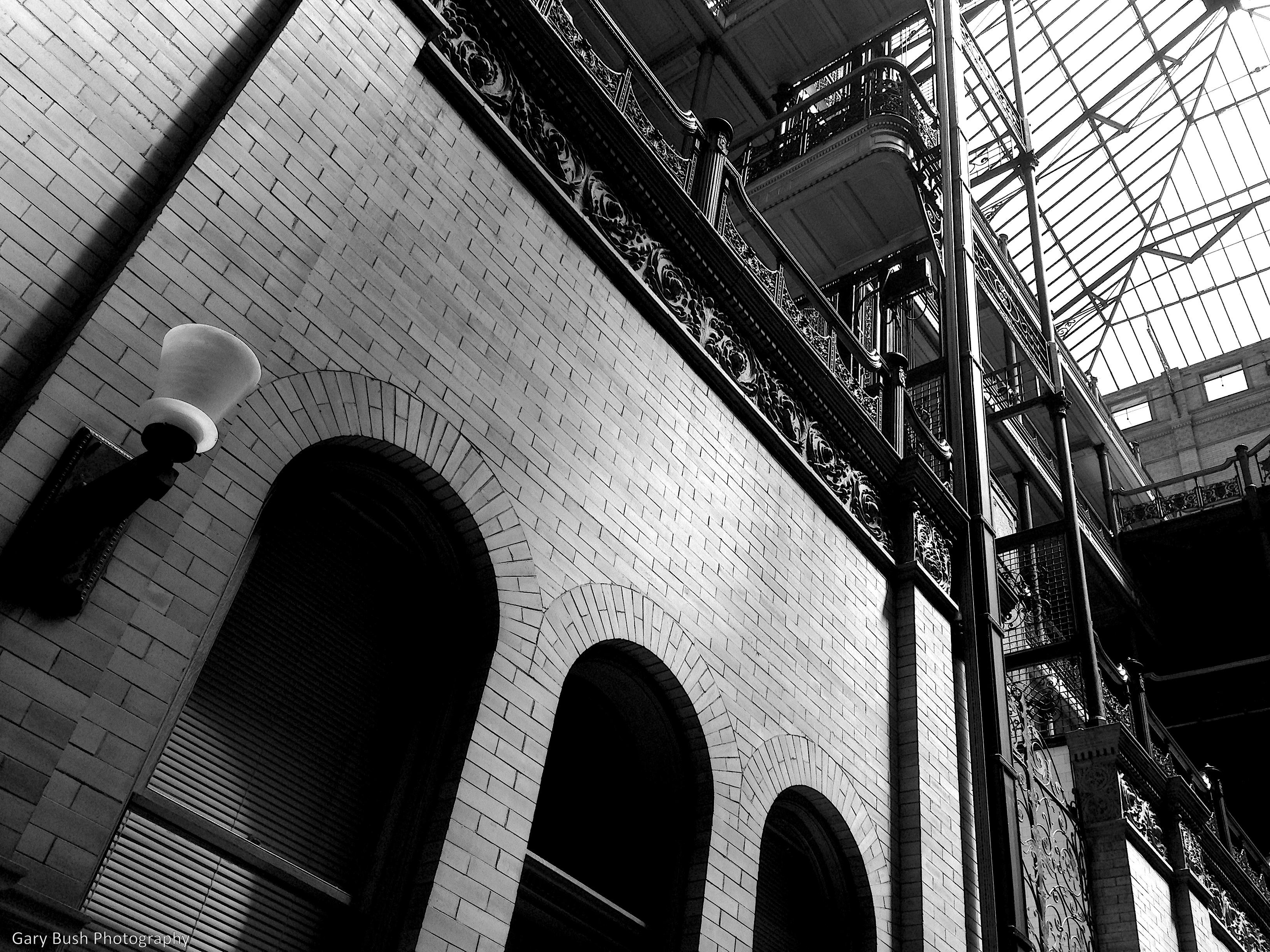 Bradbury Building (detail)