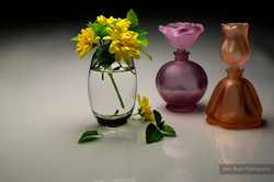 Flowers and Perfume Bottles