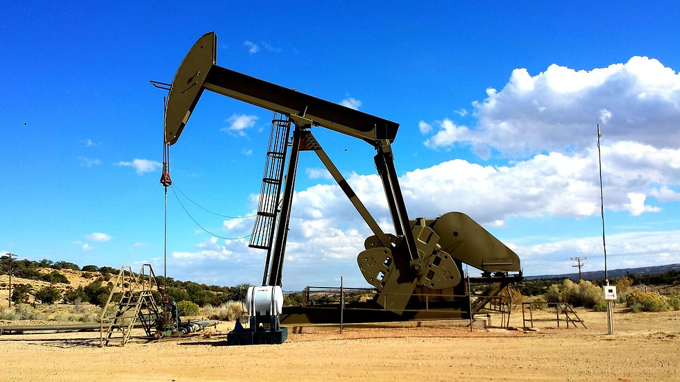 Baseline Minerals Oil Rig
