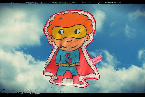 """doudou plat """"Stan le super héros rêveur !"""""""