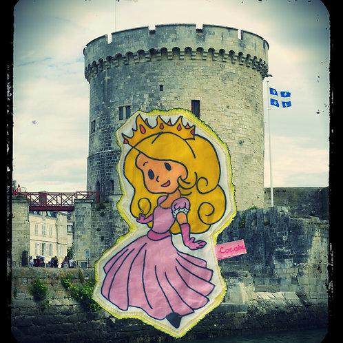 """doudou plat """"Inès la princesse du château !!"""""""