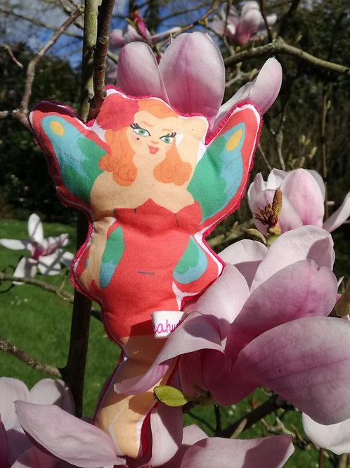 "Doudou ""Eva la pin up papillon !!"""