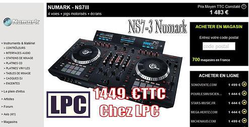 controleur NS7 3 Numark
