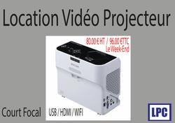 loc video  projecteur ricoh