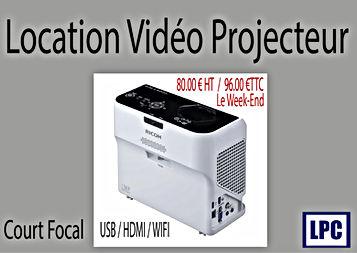 Location vidéo projecteur chez LPC informatique et sonorisation