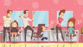 """""""Somos Peluqueros"""" Un juego para reducir el estrés en los niños"""