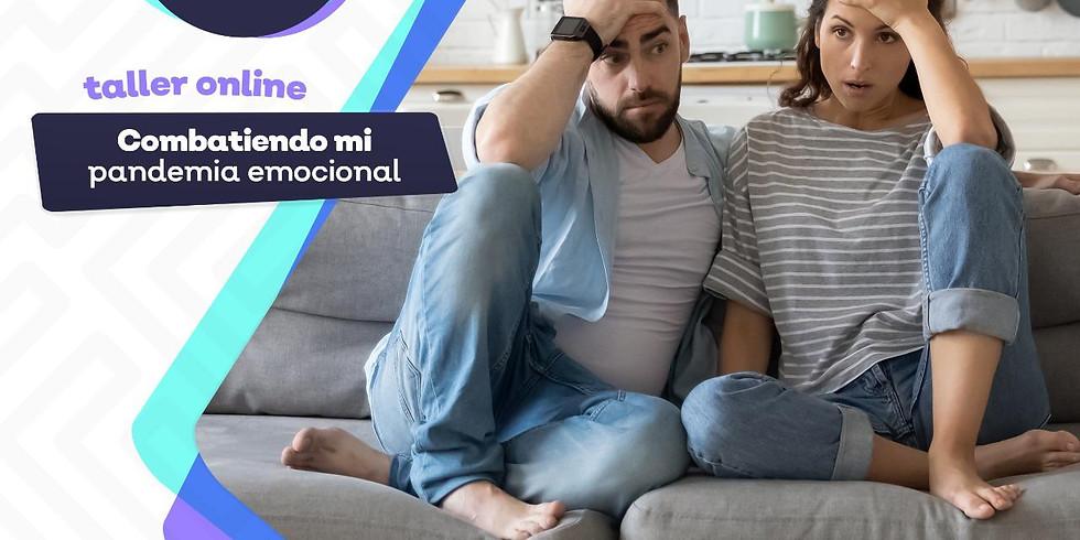 TALLER ONLINE DE MANEJO Y CONTENCIÓN EMOCIONAL PARA ADULTOS