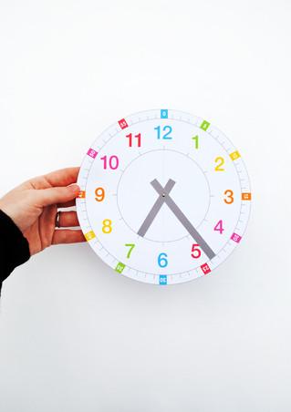 """Haz tu Propio """"Reloj de Aprendizaje"""""""