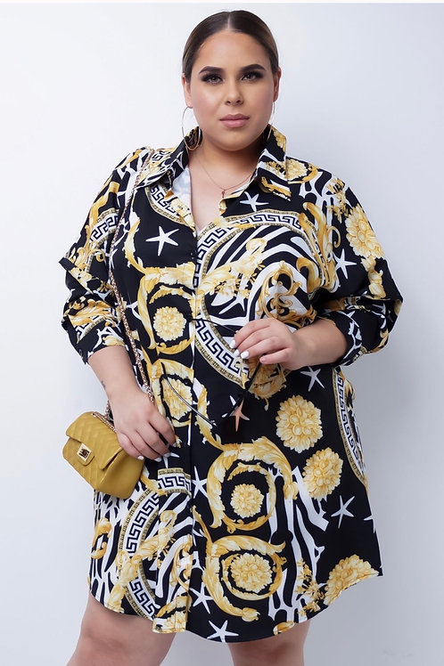 Plus Size Finders Keeper Mini Dress