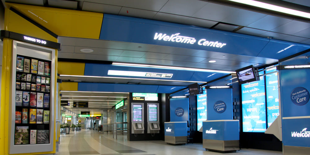 Welcome Centers LGA TB