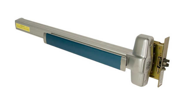 Blue taped Exit Bar