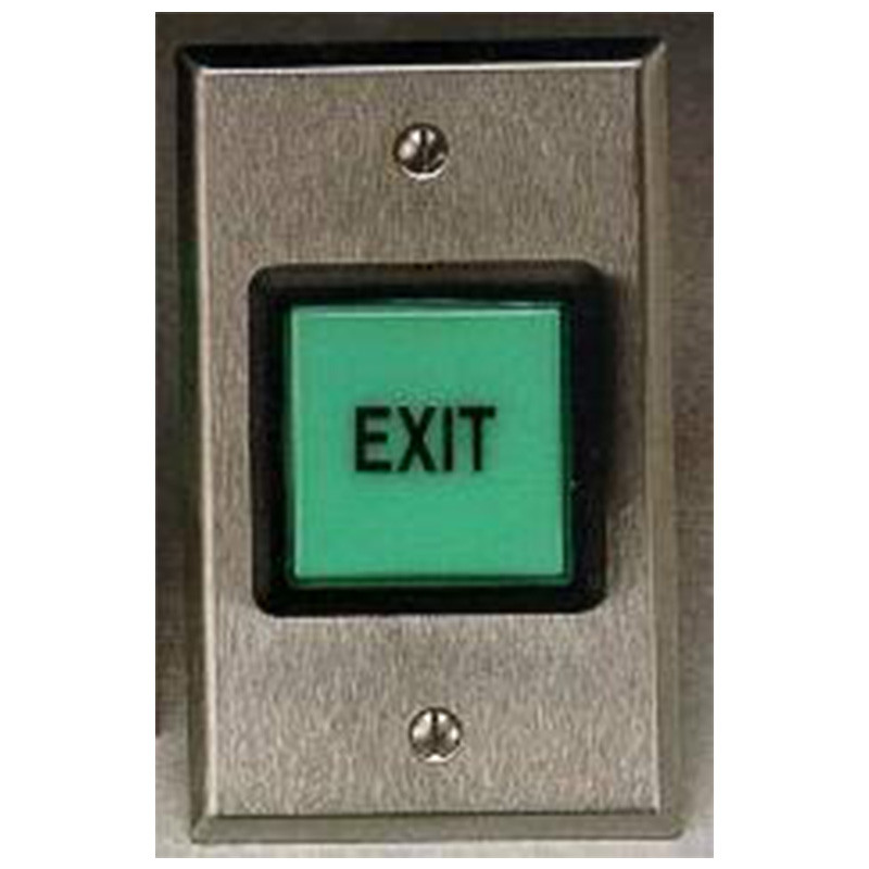 Push to exit button