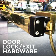 Door Lock Exit Hardware