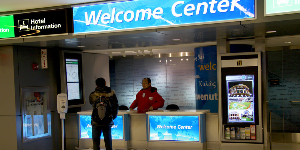 Welcome Centers LGA TA