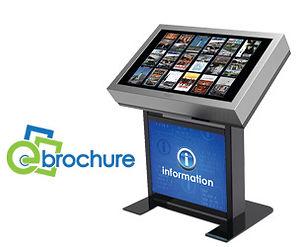 eBrochure digital signage Kiosk