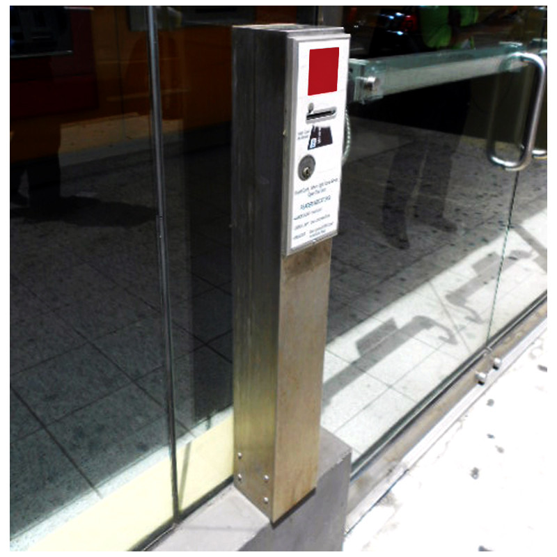 Stainless Steel, Floor Mounted